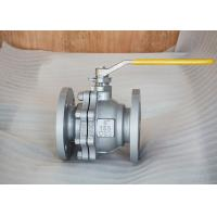 Wholesale API 6D Side Entry Floating,A216WCB, Class 150, RF 3inch flanged ball valve from china suppliers