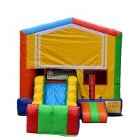 Wholesale Lyons toys Yellow PVC Hot sale inflatable castle bouncy castle for baby from china suppliers