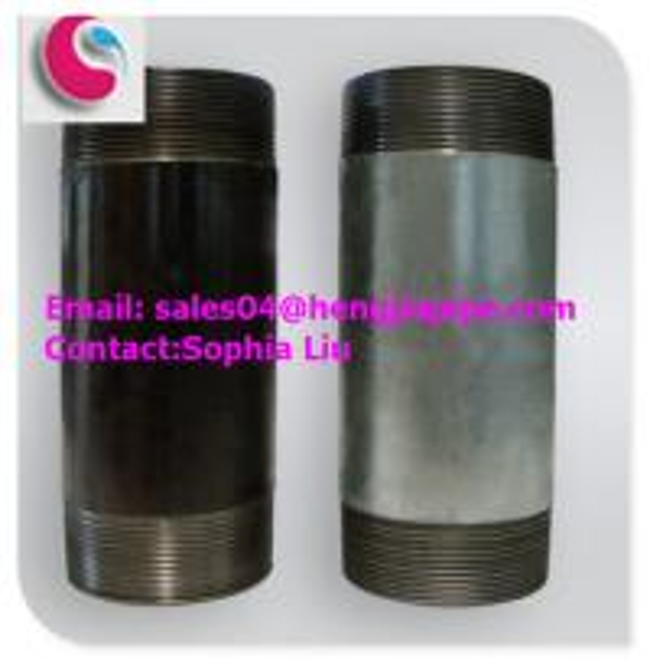 carbon NPT pipe nipple of sophialiuhengjiapipe-com