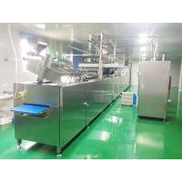 Quality PLC Controlled Chocolate Moulding Line With Remote Control System for sale