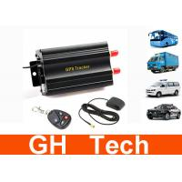 Wholesale Dual SIM Card Vehicle Tracking System 16 PIN Harness With Remote Control from china suppliers