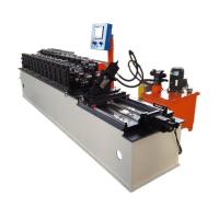 Buy cheap Omega Furrer Channel Glazed Tile Roll Forming Machine High Speed from wholesalers