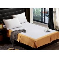 Wholesale Fashion Design Hotel Bed Skirts / Adjustable Bed Skirt Multi Color from china suppliers