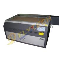 China portable 3040 mini laser cutting engraving machine with40w/60w laser tube on sale