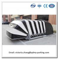 Wholesale Remote Control Solar Powered Retractable Car Garage/ Automatic Car Cover Patent/Automatic Solar Car Cover from china suppliers