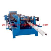 High Frequency PLC CZ Purlin Roll Former with Gear Box Transmission