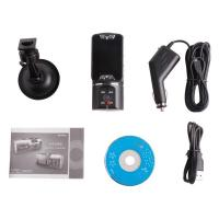 Wholesale HD 720P NEW Dual Lens Dashboard Car cam vehicle Camera Video Recorder DVR from china suppliers