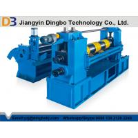 China Semi Automatic Slitting Line Machine With Hydraulic Tension Station on sale