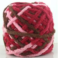 Wholesale Factory wholesale light polyester chenille yarn in ball and skein from china suppliers