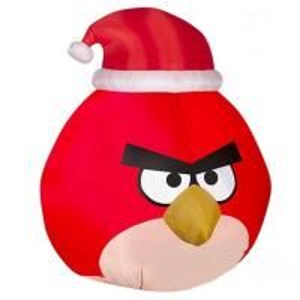 Factory Customized Christmas Cartoon Decoration Inflatable Bird for Yard or Garden