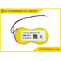 Wholesale 3v 1200mah CR2450 Limno2 Battery Pack 2P Connector from china suppliers