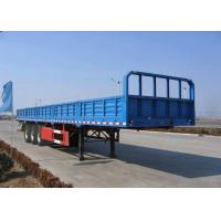 Wholesale 13m 3 Axles Side Wall Drop Side Trailer For Container And Bulk Cargos Transport from china suppliers