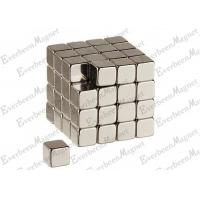 Wholesale 10x10x10mm Neodymium Block Magnets , Permanent Rare Earth Magnet Gold Coating from china suppliers