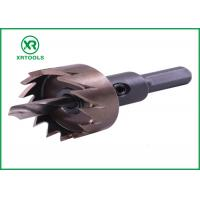 Wholesale High Hardness HSS Hole Saw , Sharper Blade Universal Hole Saw For Stainless Steel from china suppliers