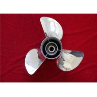 Wholesale 13 1/2 X 15-K 3 Blade Stainless Steel Boat Propeller 0-140hp For YAMAHA from china suppliers