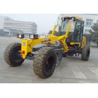 Ground Leveling Earthmoving Motor Grader Machine GR100 With 350KPa Tire Inflation Pressure