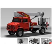 Buy cheap 115km/H Transport Semi Trailer Electricity Rescue Vehicle Hydraulic Control from wholesalers