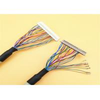 China Led Lcd Converter Rainbow LVDS Cable Assembly Hirose 30 Pin Plug To 40 Pin DF13-40DP on sale
