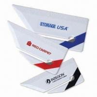 Wholesale 4-inch Ruler Letter Opener with Sturdy Handle and Safety Blade from china suppliers