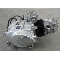 Siver Color Motorcycle Engine Assembly , 50CC Motorcycle Engine Manual Clutch