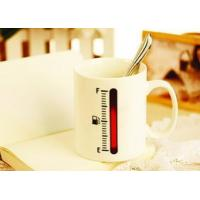 the change colors mug The ceramic  thermometer magic  cup