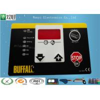 Wholesale Matte Or Glossy Membrane Switch Overlay , PET 0.2 Mm Transparent Custom Graphic Overlay from china suppliers
