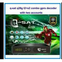 Buy cheap 2015 newest qsat q28g dvb s2 and t2 combo gprs satellite receiver for africa from wholesalers