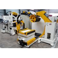 Buy cheap sheet metal handling equipment,decoiler straightener feeder machine with Servo motor with PLC from wholesalers