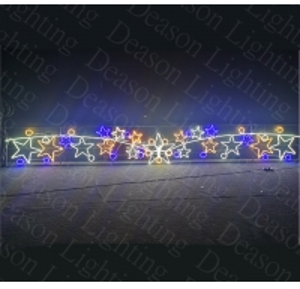 Wholesale Christmas street light decoration/ over the street christmas decorations from china suppliers
