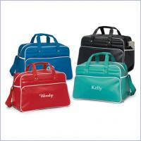 Wholesale Portable Vinyl Vintage Women Customized Travel Bags green / blue 30 - 40L from china suppliers