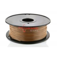Wholesale No warping 1.75mm Wood 3D Printer Filament , LAYWOO-D3 wood Filament from china suppliers