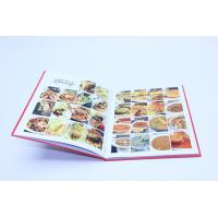 Wholesale HardCover / SoftCover Cookbook Printing Matt Lamination Color from china suppliers