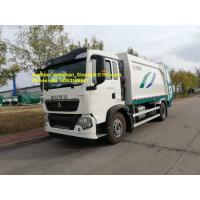 Wholesale 4x2 12m3 Sinotruk Howo7 Garbage Collection Truck 290hp 336hp Left Hand Drive Euro2 from china suppliers