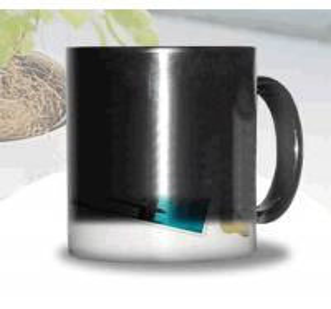 the change colors mug printing photos ceramic MAGIC MUG SPOTS GOODS BLANK MAGIC MUG