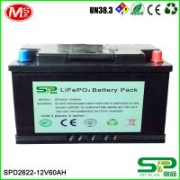 Wholesale Large capacity and high energy battery pack 12v 60Ah Lifepo4 Battery Pack Lithium Battery 12v 60Ah Replace Lead Acid from china suppliers