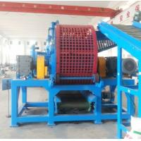 China Scrap Rubber Tires Recycling Machine With Rubber Granulator Removing Steel Wires And Fiber on sale