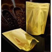 Wholesale Laminated Coffee Plastic Packaging Bags Self-Standing , PET / AL / PE from china suppliers