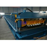 Chain Driving Double Layer Roll Forming Machine 1200 mm Coil Sheet Feeding