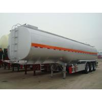 Buy cheap 50000 liters fuel tanker semi trailer for Africa diesel oil fuel transport from wholesalers