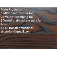 Wholesale Wood grain  hot stamping foil for MDF from china suppliers