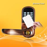 Wholesale Dual Anti Theft RFID Card Door Lock 4.8V-6.5V 12-18 Months Power Lifetime from china suppliers