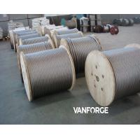 Wholesale 7x7 Cold drawn Stainless Steel Wire Rope High Tensile Corrosion resisitant from china suppliers