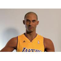 China Kobe Bryant Wax Figure / Realistic Wax Sculptures For Museum Display , Memorial Hall wholesale