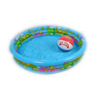 Adults Giant Dia Inflatable Ring PoolPortable Swimming Pool Silk Screen Print