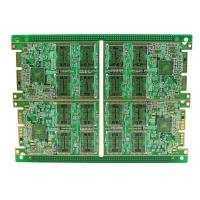 Rigid Multilayer PCB , High Density 8 Layer Immersion Gold PCB Automatic Control Circuit Design