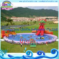 Inflatable Aqua Park Above Ground Portable Water Park Infltable Slide With Pool Of Item 105773201