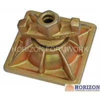 Wholesale Articulated Flange Tie Rod Wing Nut Dywidag Thread To Fix Wall Formwork System from china suppliers