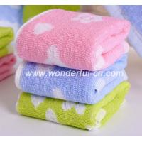 Buy cheap Hot selling 25x25cm cheap cotton guest green hand towels from wholesalers