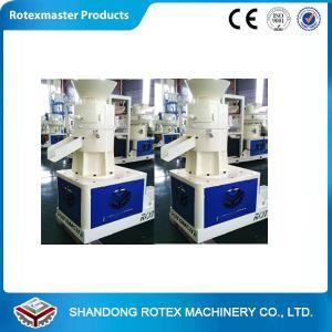 China ROTEX MASTER flat die Wood Pellet Machine / saw dust pellet making machine on sale
