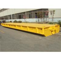 Wholesale 80T Capacity FlatBed Roro Mafi Trailer , 60 Feet Roro Container Ship Trailer from china suppliers